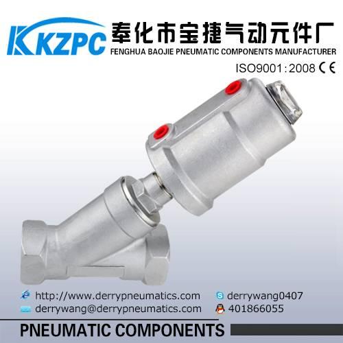 Angle seat valve angle seat valve pneumatic JZF-15