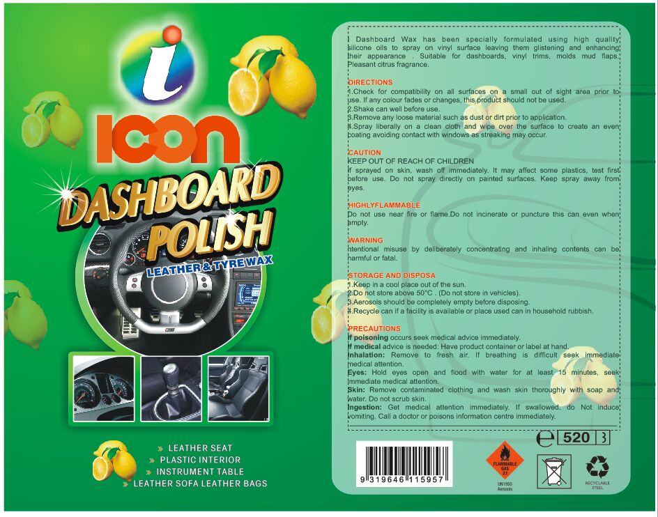 ICON AEROSOL DASHBOARD WAX