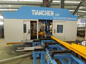 3D CNC H Beam Drilling Machine Model TSD1250