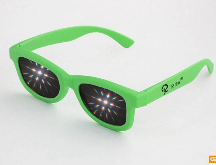 Hot sale fireworks glasses diffraction glasses for sale