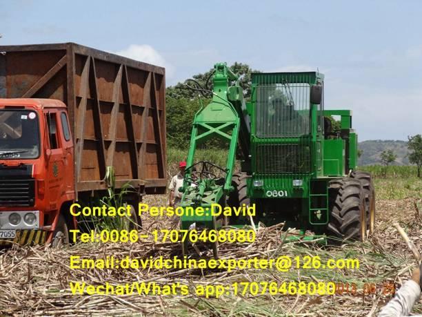 cameco sugarcane grab loader