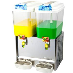 Juice dispenser with 18L bowls