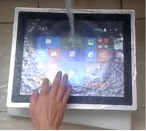 15 inch Waterproof Panel PC