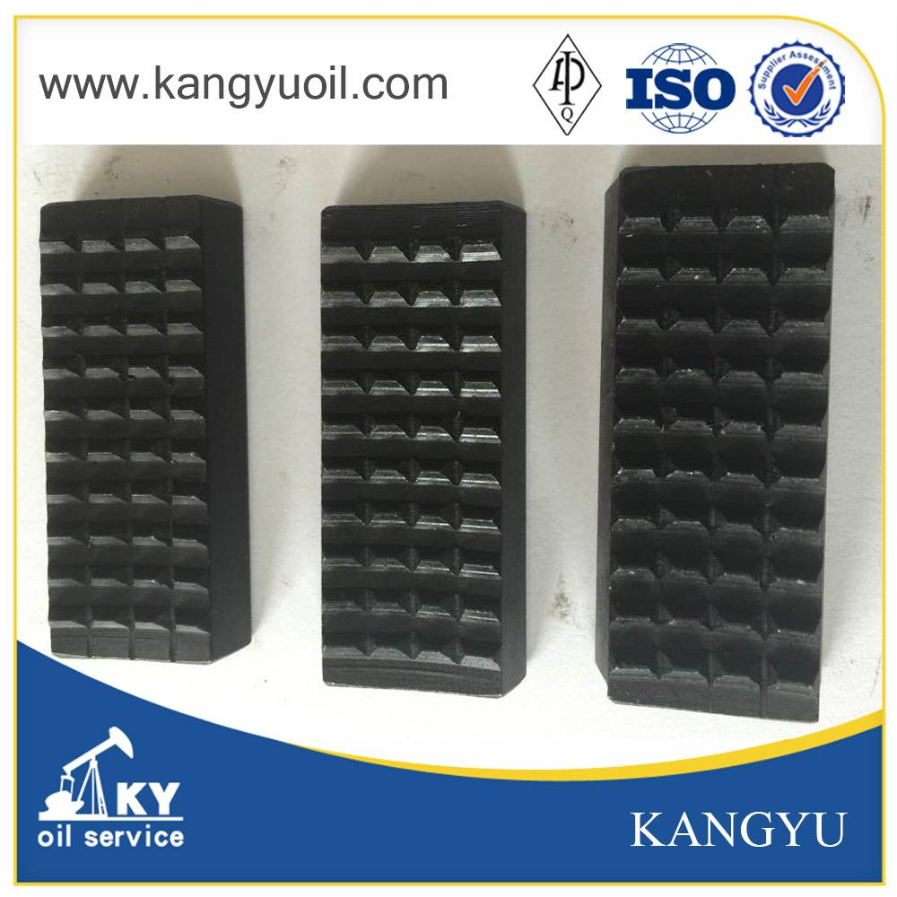 Oilfield spare parts insert for tongs