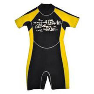 Neoprene children swimwear wet suits