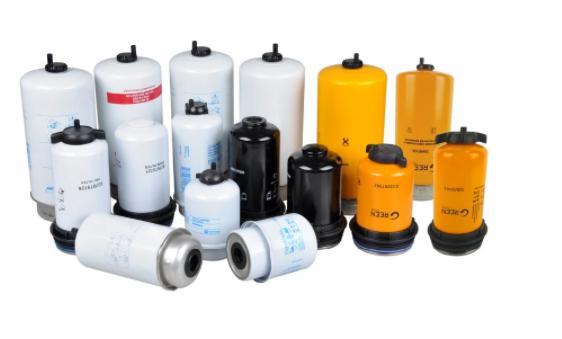 Diesel engine replace parts oil filter Excavator fuel filter