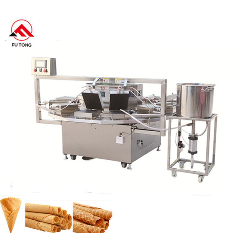 Electric wafer biscuits machine maquina de obleas barquillos making machine