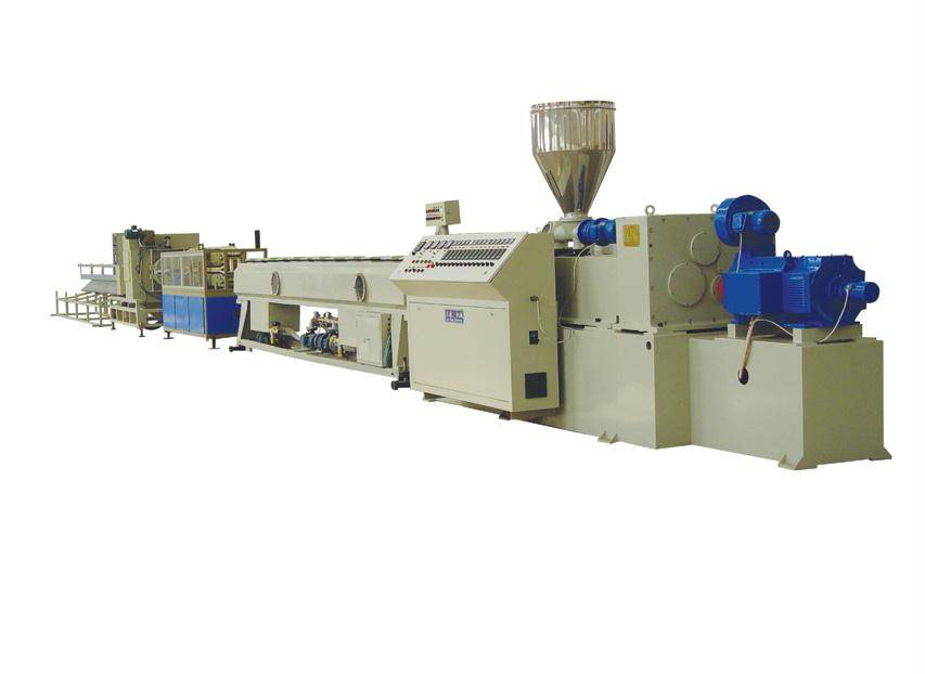 PVC Pipe Making Line-PVC Water Supply/Disposal Pipe Production Line