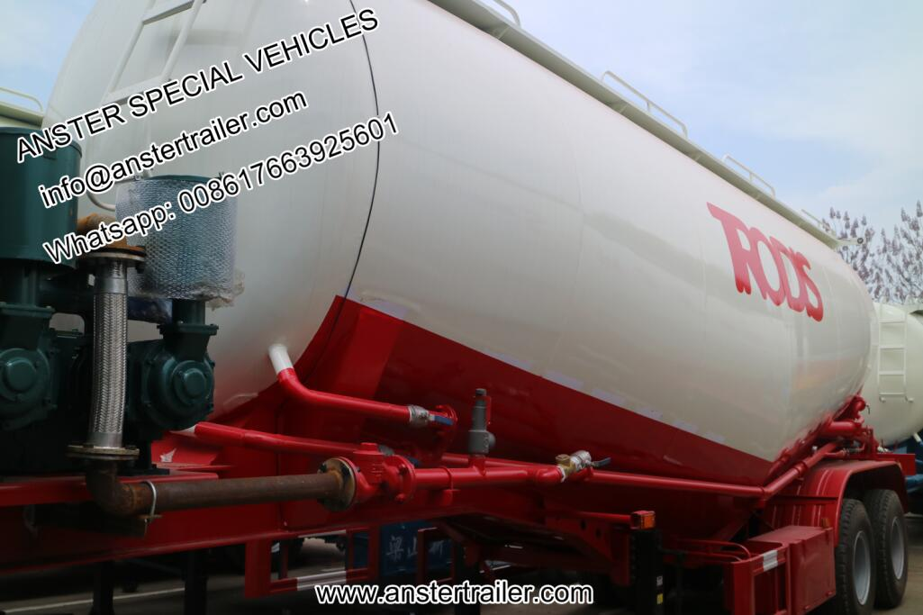 30/40/50 m³/cbm bulk cement tanker trailer for sale
