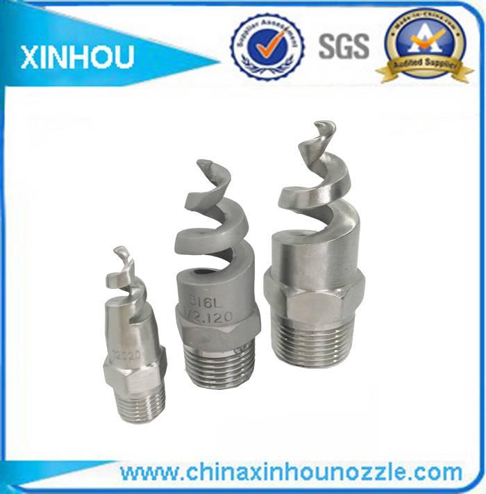 316SS PP full cone spiral sprinkler nozzle