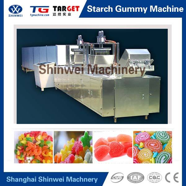 Starch Mould Gummy Jelly Candy Depositing Line