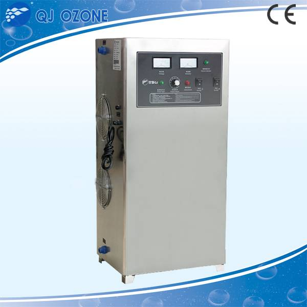 400 g/h industrial high frequency ozone machine , ozone generator machine