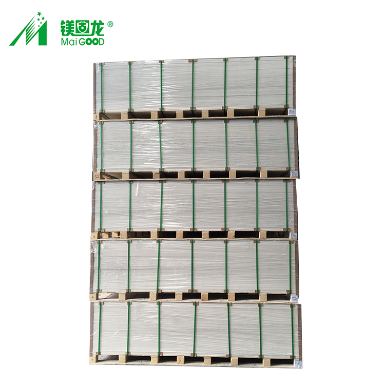Glass Magnesium Waterproof Partition Ceiling Mgo Board, No Sweating No Chloride Magnesium