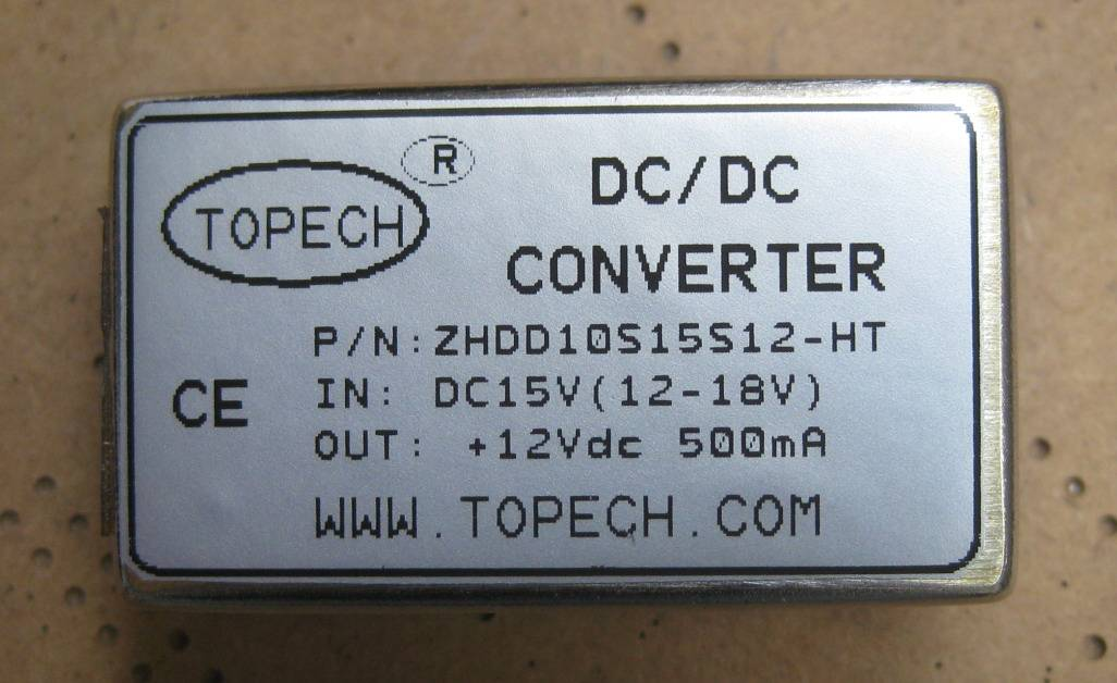 high temperature dc-dc power supply 8W 5V 1.6A