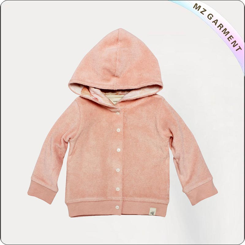 Baby Girl Snap Jacket
