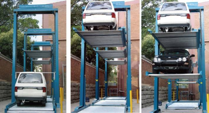 Multi-Vertical Parking system PSH-Z/PSH-T