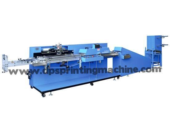 Satin ribbons automatic screen printing machine