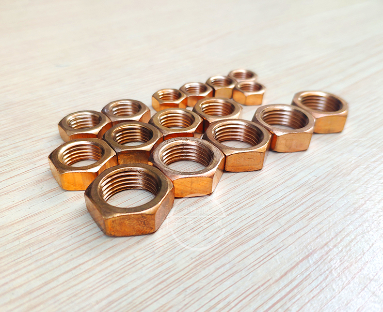 Silicon Bronze Finished Jam Nuts