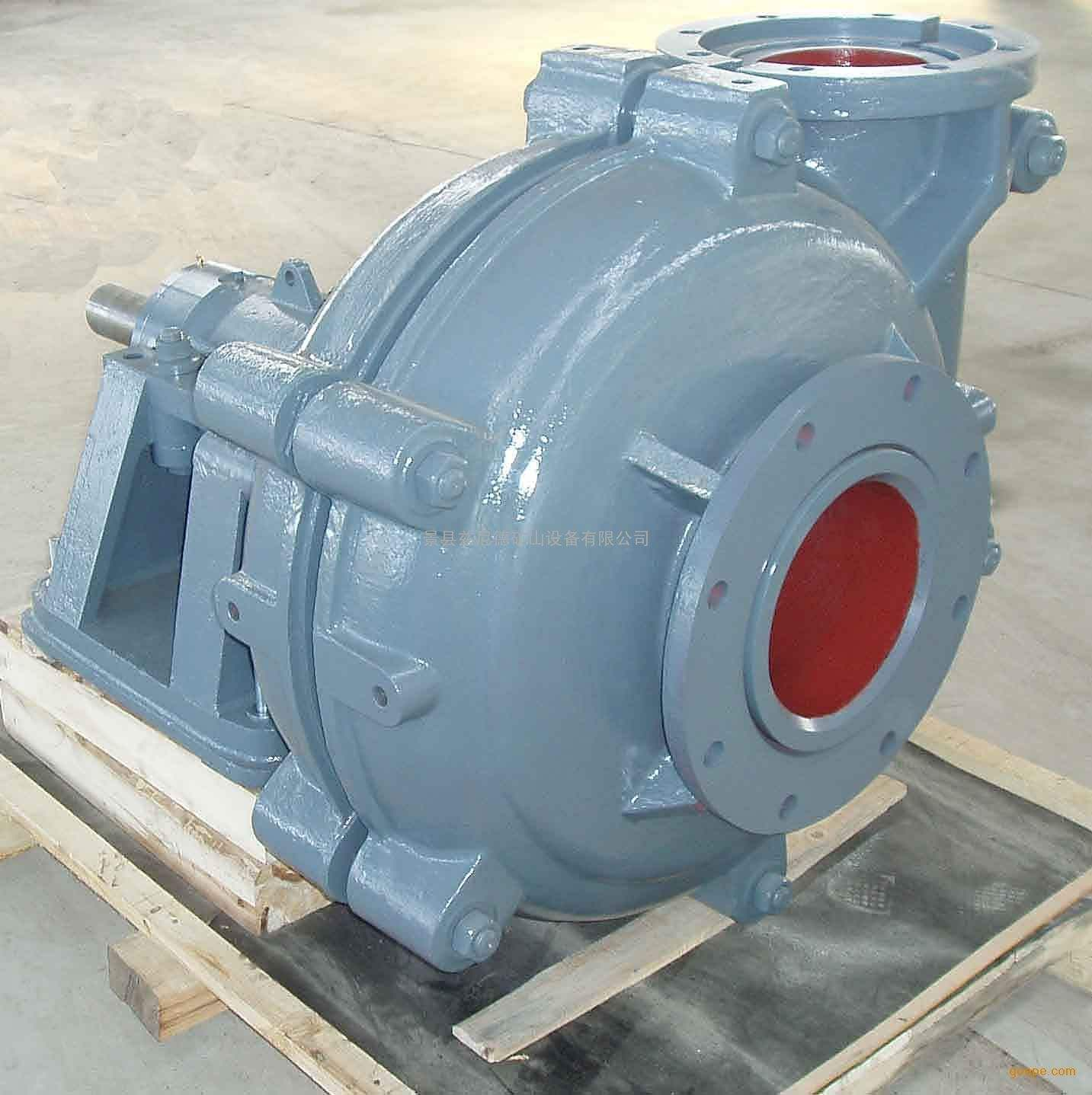 3/4/5/6/7/8 inch industrial solid slurry pump