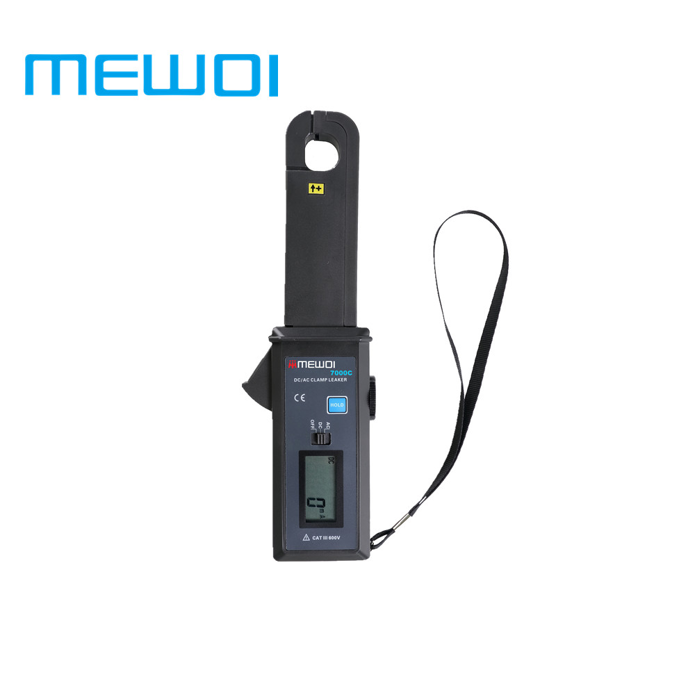 MEWOI7000C-High Accuracy AC/DC Leakage Current Tester/Clamp Leaker