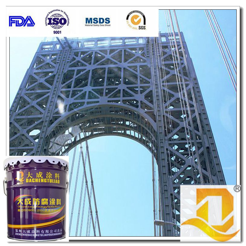 Epoxy MIO intermediate paint(micaceous iron oxide)