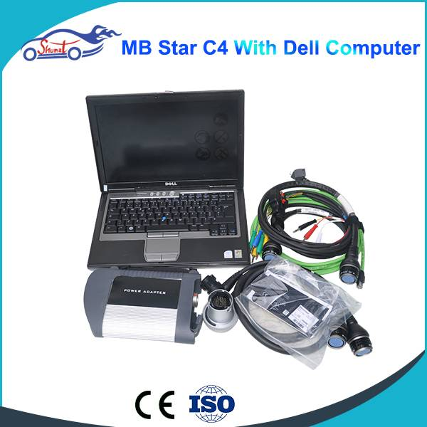 Best selling NEW MB Star C4 MB SD connect compact 4 with WIFI with HDD DAS/XENTRY With PC  auto scan