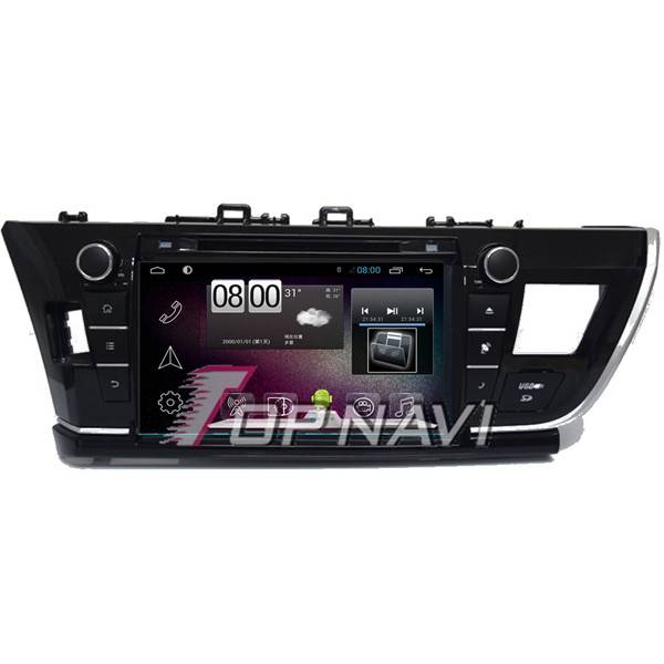 9Inch Android 4.4 Car GPS Player Video For Toyota Corolla 2014 Navigation BT 3G