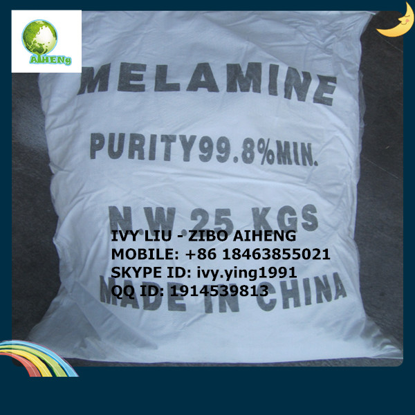 MELAMINE POWDER 99.8%MIN