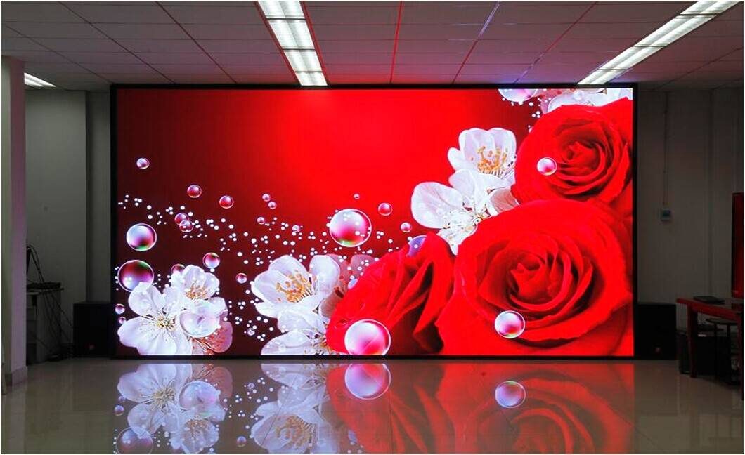Auroled own developed 4k full color lastest COB led screen display board