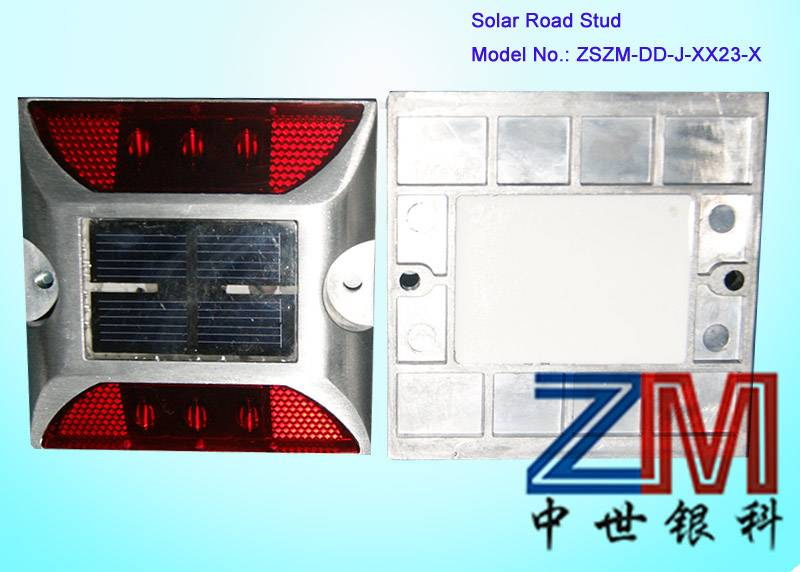 square shape Solar Road Stud