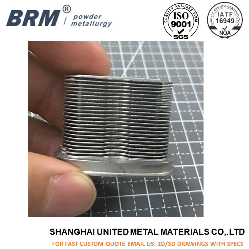Metal injection molding MIM CPU Aluminum Heat Sink