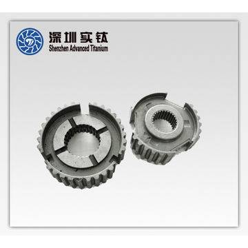 Titanium alloy automotive engine gears