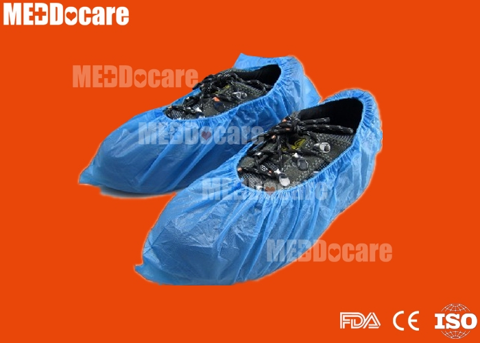 disposable waterproof plastic round elastic band pe cpe shoe cover