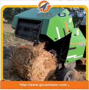 Electric baler small round hay baler machine
