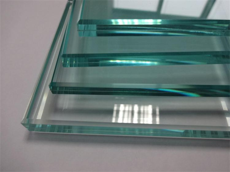 4+0.38+4mm PVB Laminated Safety Building Glass