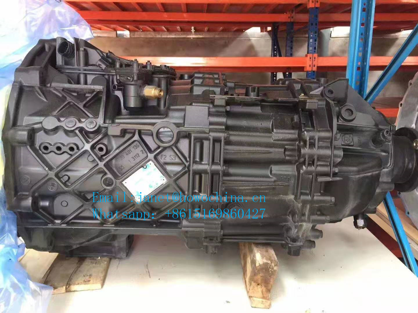 Germany ZF Transmission 16s1850od for Dongfeng Truck