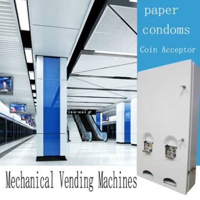 Mechanical Vending Machine Condoms and Paper Vending Machine Wholesale