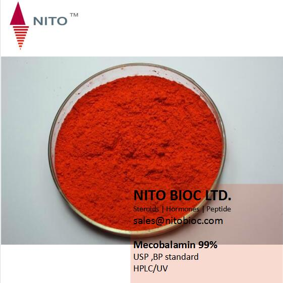 Mecobalamin(Vitamin b12) with high quality for pharmaceuticals factory supply