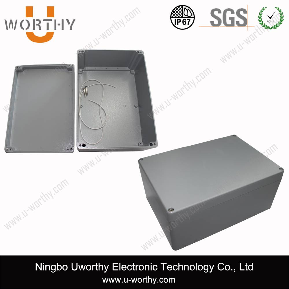 Powder Painted Aluminum Waterproof Enclosure
