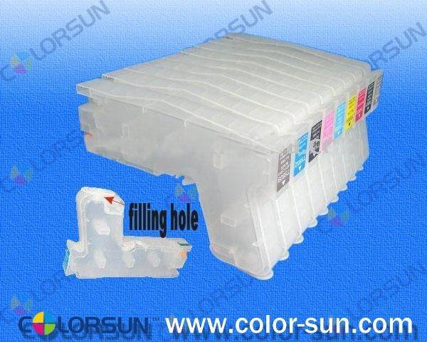 new design refillable ink cartridge for epson 3880/3885/3850/3800 with sensors(280ml)