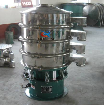 Hot stainless steel vibrating filter sieve machine from china OEM