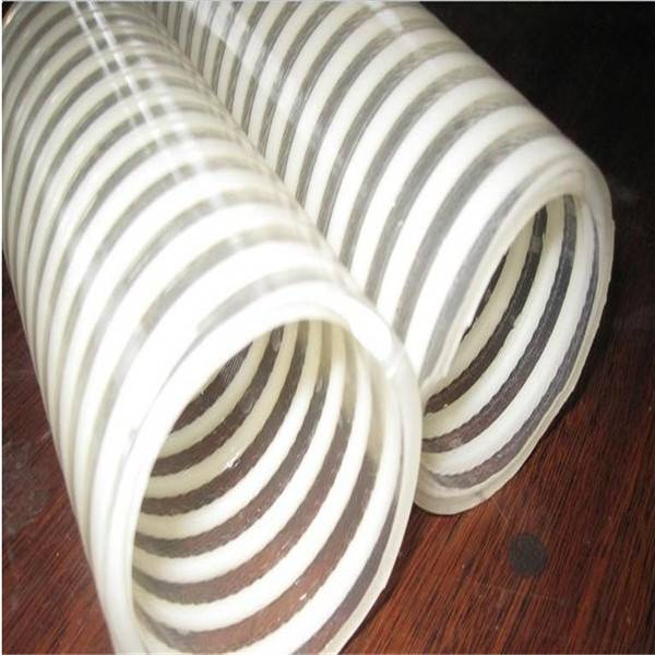 Flexible high pressure PVC Helix suction & delivery hose