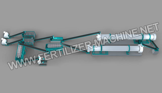 20,000 tons Organic Fertilizer Production Line