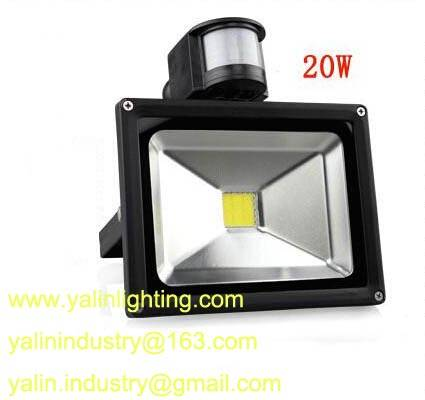 motion detector LED floodlight, PIR sensor outdoor flood light