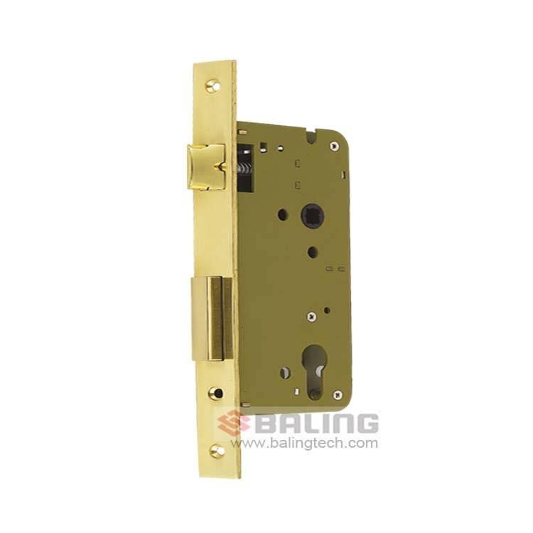 Double Security Lock Body Anti-Pull Mortise Door Lock Anti-Plug Lock Case Export