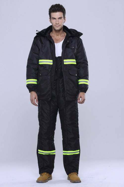 Deep Freeze -40 centrigarde Hi-Glo Coverall,OEM factory