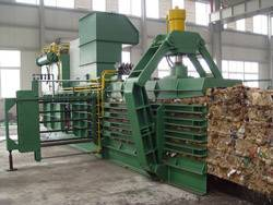 waste paper packer