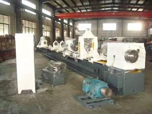 CNC deep hole drilling boring machine
