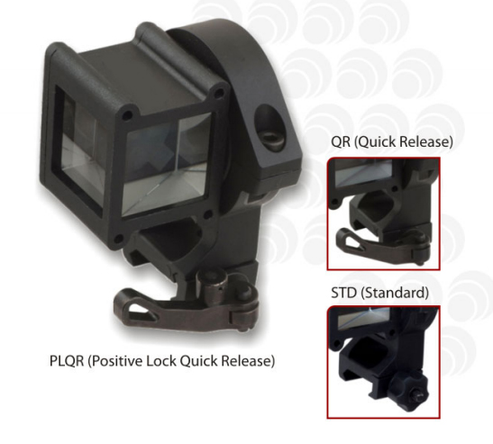 Tactical hunting angle sight with standard picatinny mounts