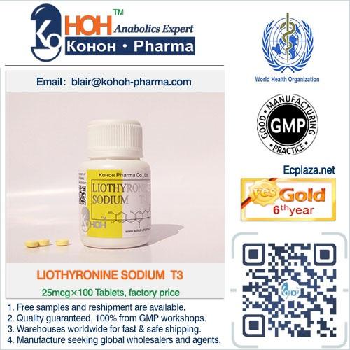 Liothyronine Sodium T3 Tablets Steroids Powder Ankoh keifei